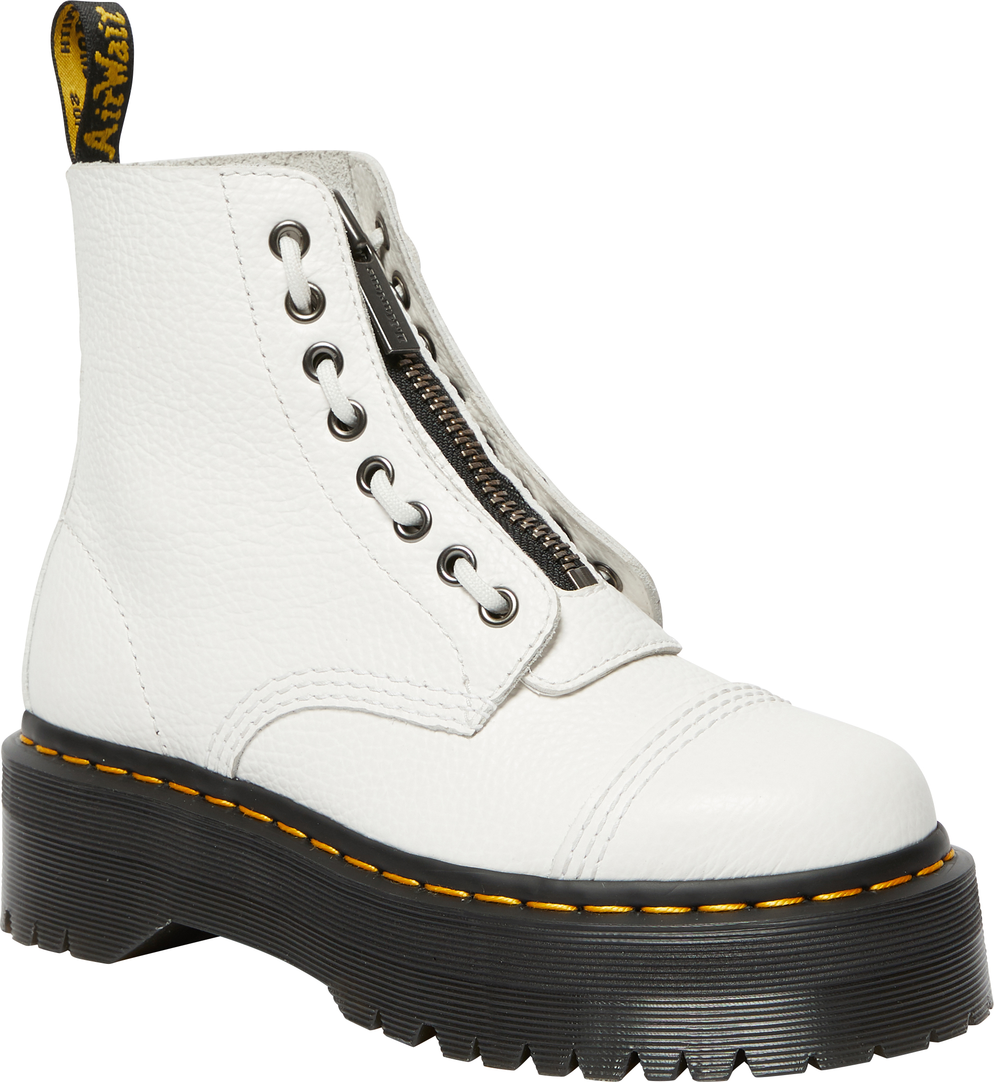Sinclair White Milled Nappa Boot