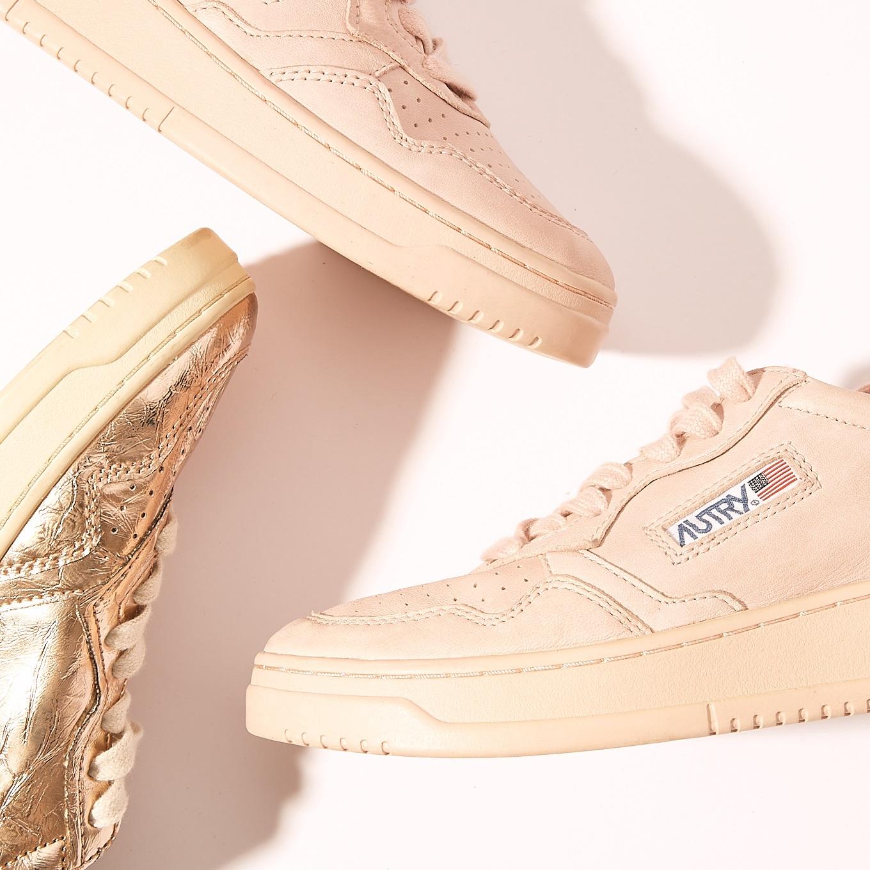 Weisse Autry Sneakers aus der Kollektion 2021