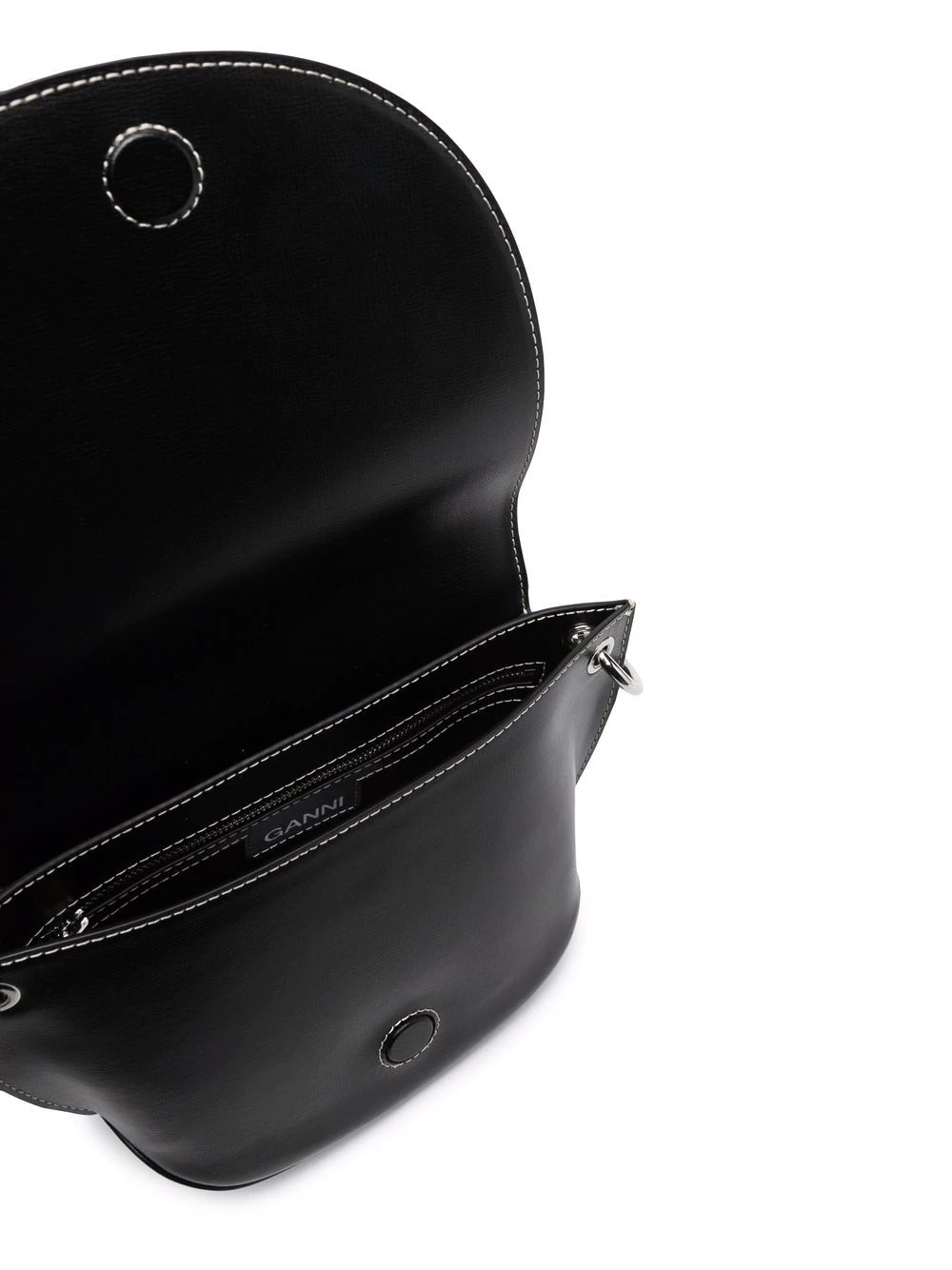 Saddle Bag mit Logo-Prägung