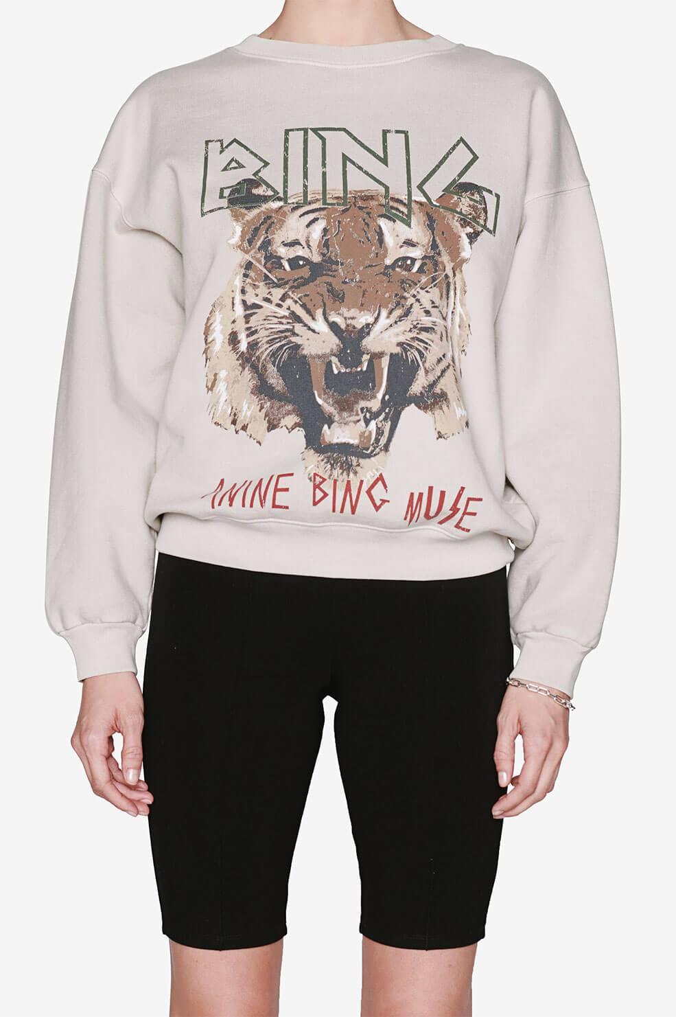 Tiger Sweatshirt Stone Anine Bing