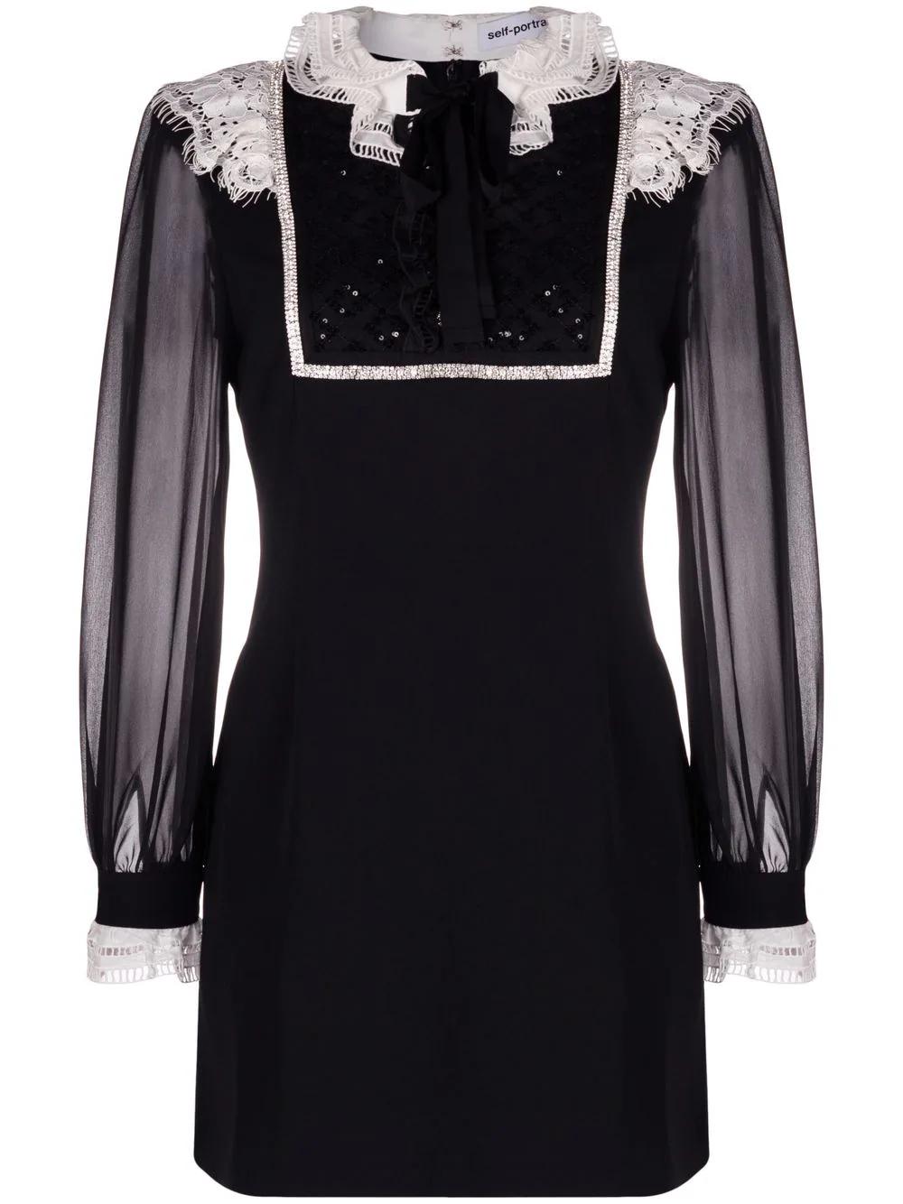 Mini Dress Monochrome