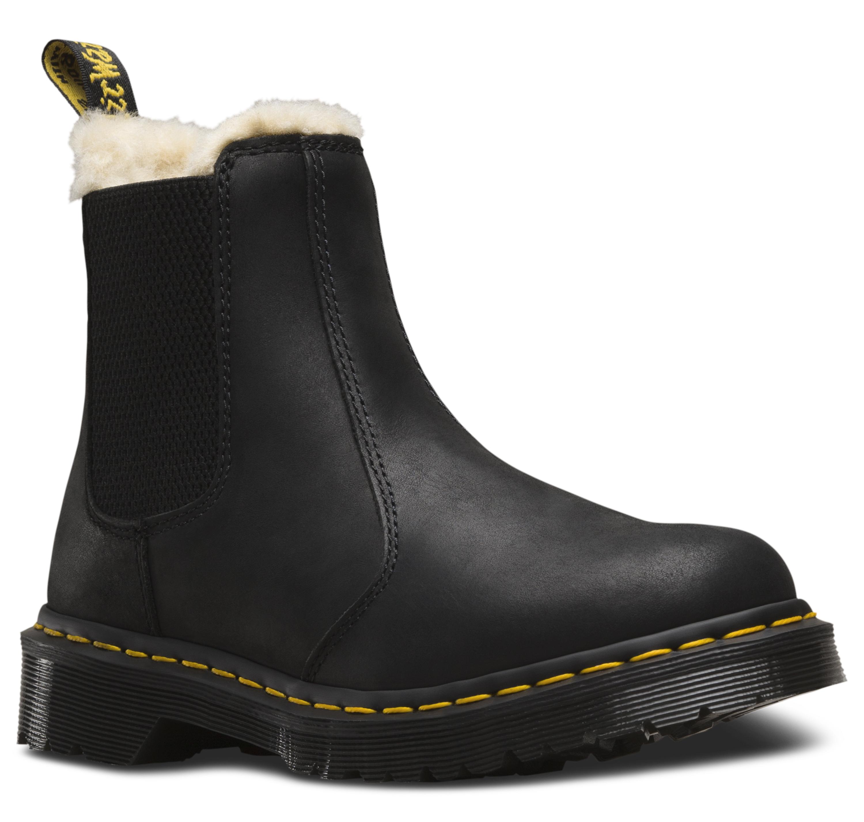 Leonore Black Burnished Boot