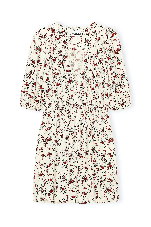 Mini Dress mit feinem Blumenprint