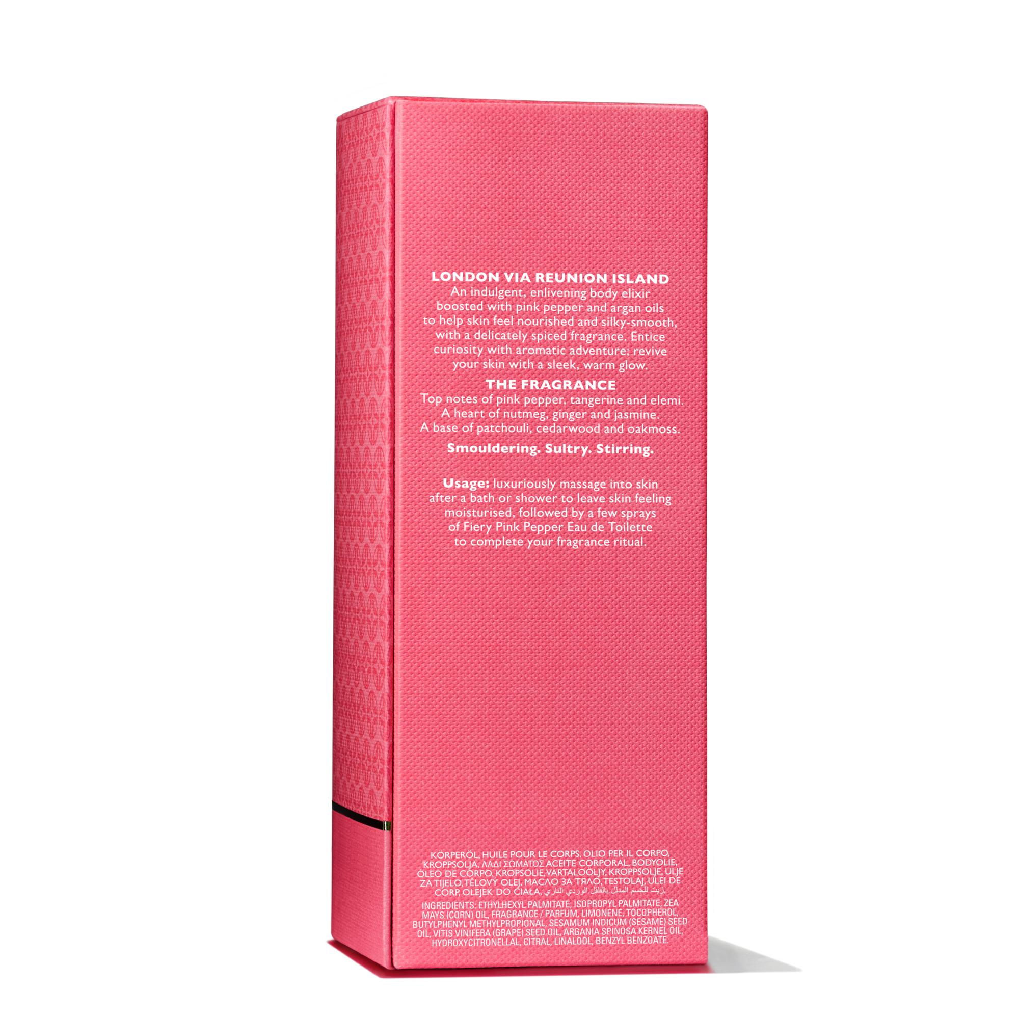 Fiery Pink Pepper Pampering Body Oil