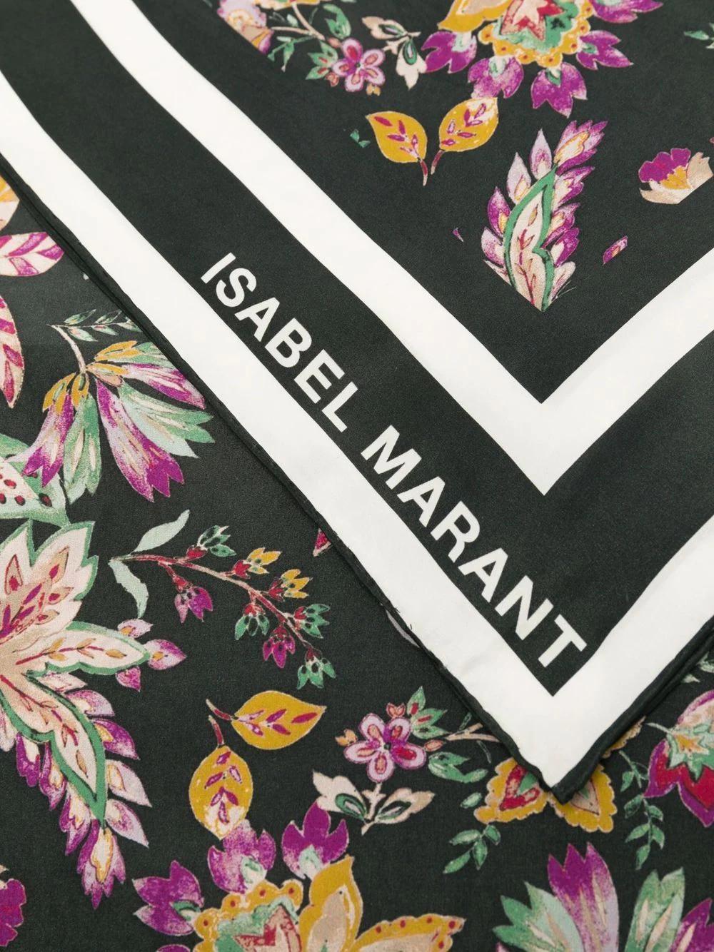 SCARFILI - Schal mit Blumenprint