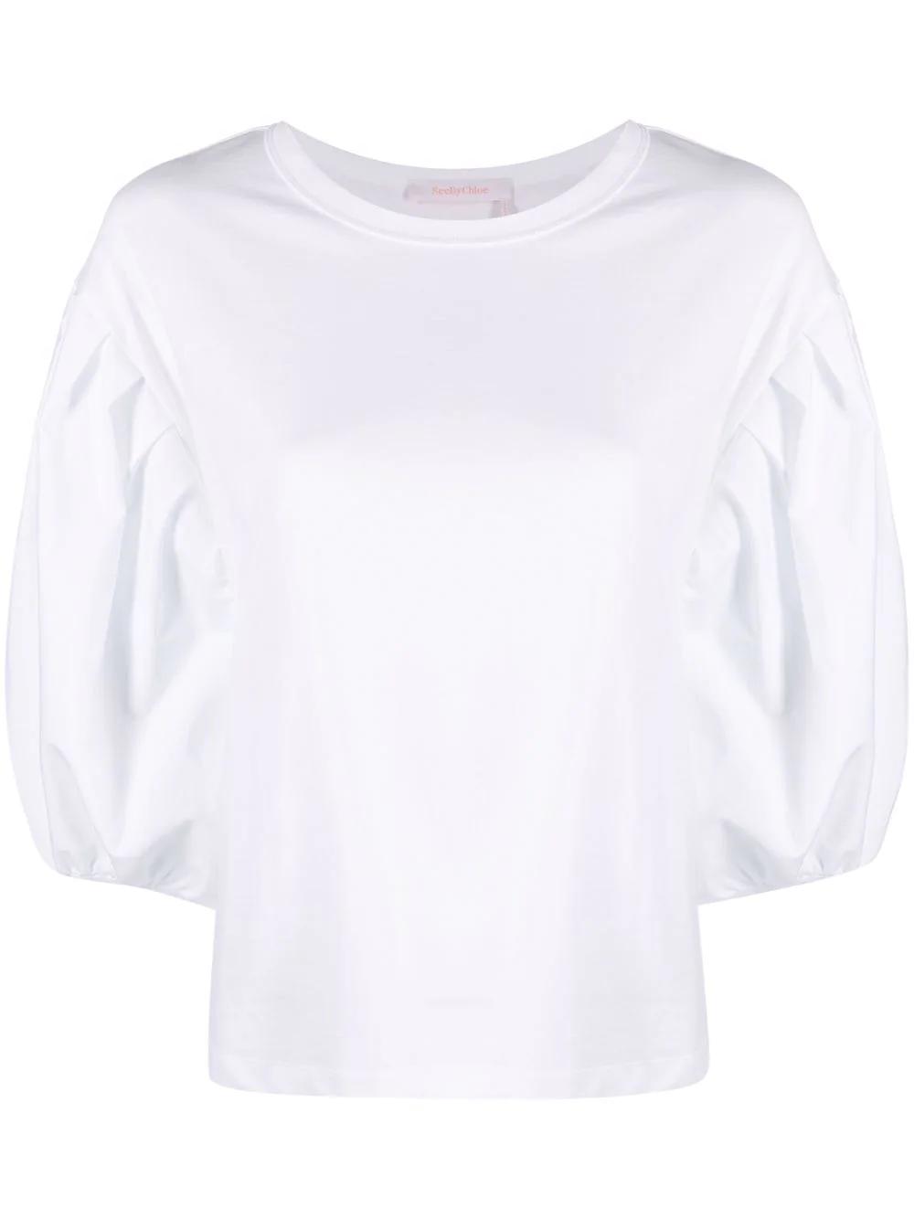 T-Shirt mit Puffärmeln