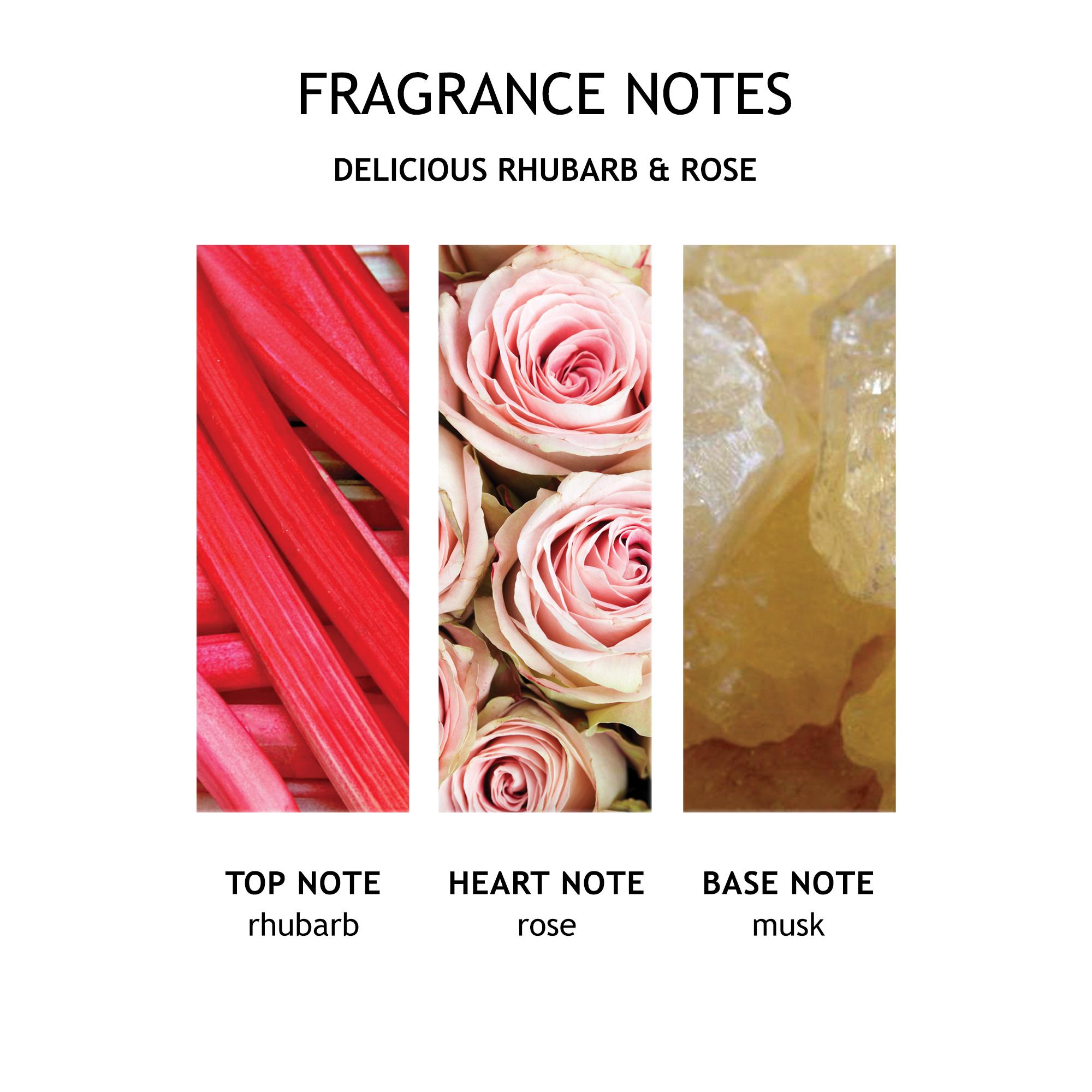 Delicious Rhubarb & Rose Liquid Hand Wash