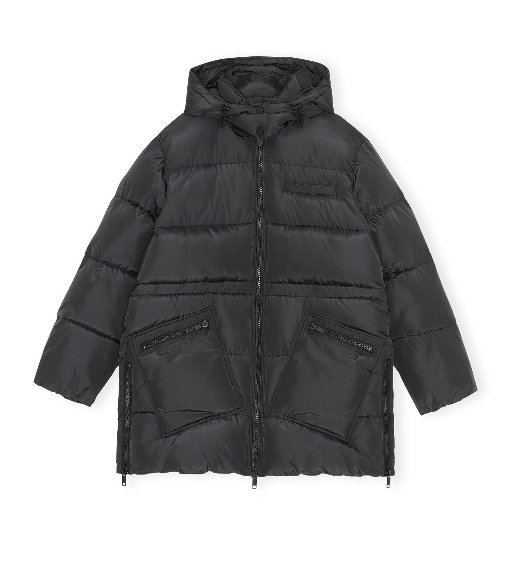 Oversized Puffer Midi Jacket